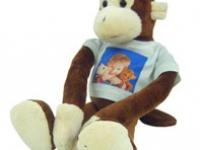 Peluche mono abrazos