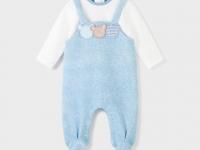 Pelele felpa recién nacido niño Ositos mayoral