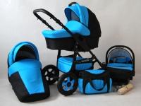 Futuro Carrito de bebé Azul 2017 3 piezas