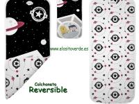 Baby galáctico Colchoneta reversible