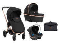 Vicenza 3 in 1 Premium Black Cochecito de bebé