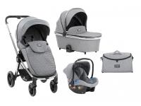 Vicenza Premium Grey 3 in 1 Cochecito de bebé
