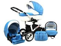 Way Luxury 3 en 1 Carrito de bebé  Azul cielo