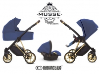 Musse Royale azul Babyactive carro de bebé